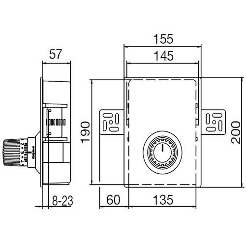 Oventrop Unibox RTL регулятор температуры отдельного помещения  - 1